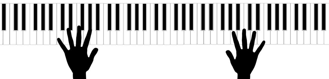 LES 7 ACCORDS MAJEURS PIANO