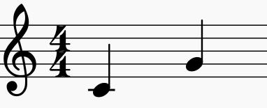 intervalle mélodique