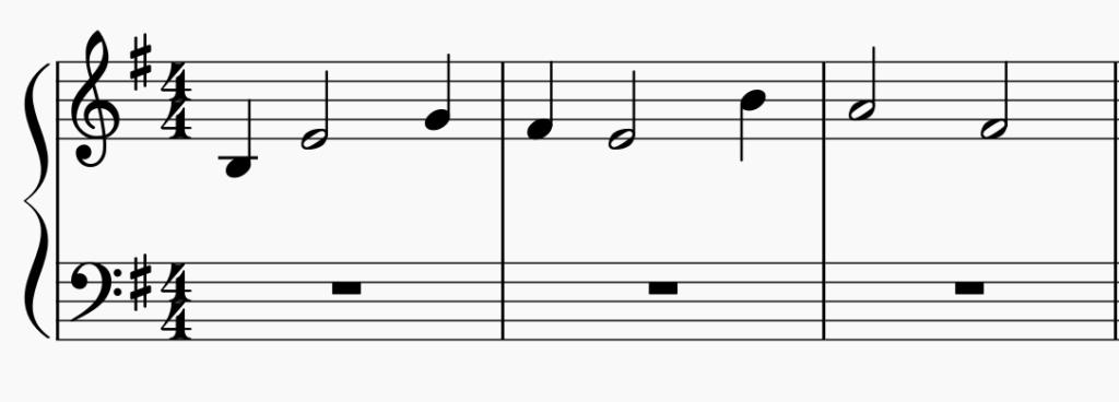 la portée en musique