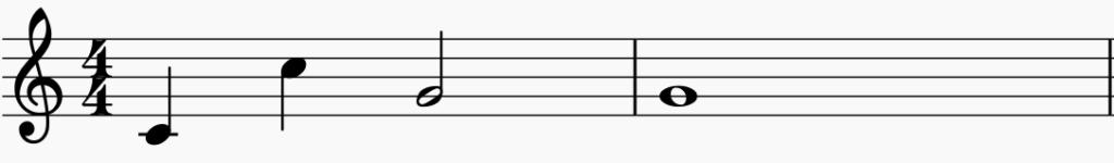 les notes de musique